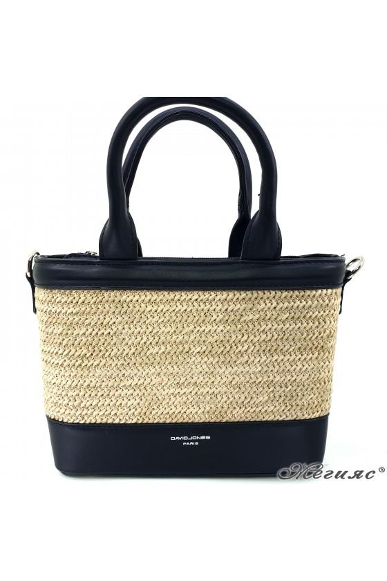Lady bag black pu 5726