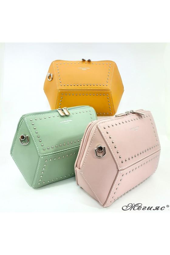 Малка дамска чанта от еко кожа цветове 5605