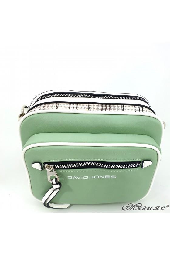 Дамска чанта зелена 6282