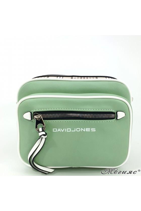 Малка дамска чанта зелена 6282
