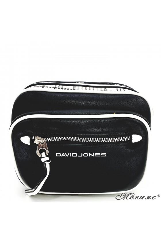 Дамска чанта черна 6282