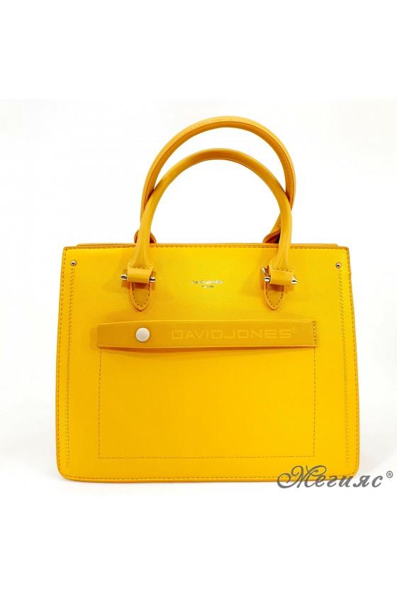 Lady bag yellow 6247