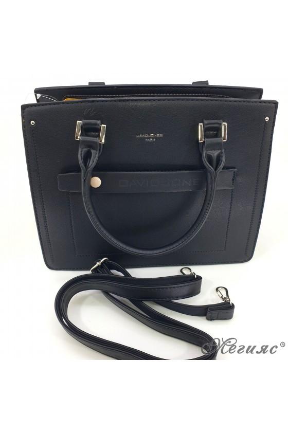 Дамска чанта черна 6247