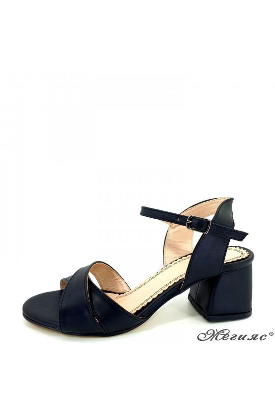 Дамски сандали черни 0258