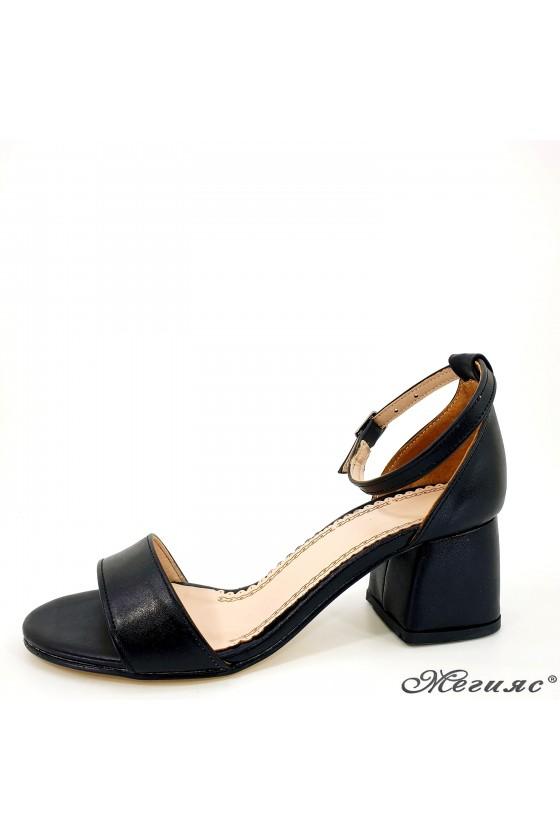 Lady sandals black 0257