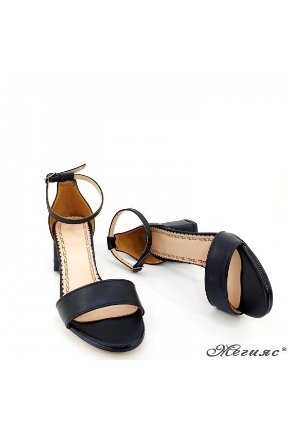 Дамски сандали черни 0257