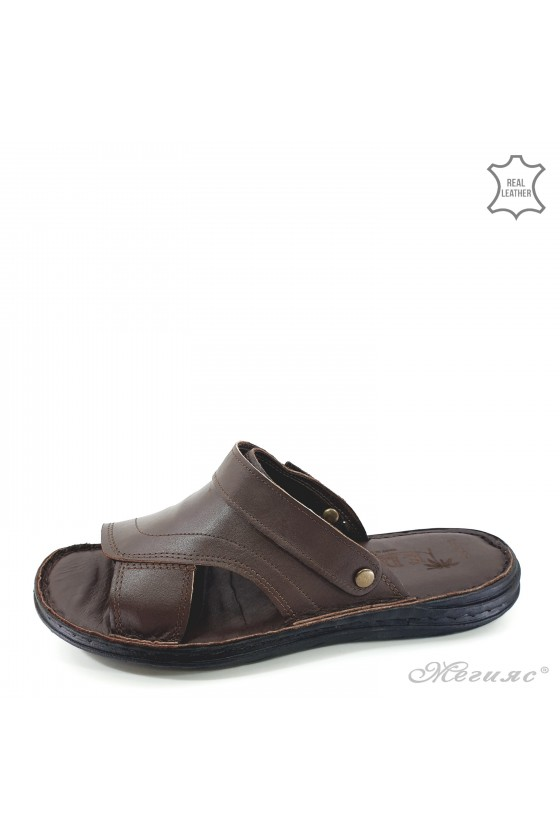 Мъжки сандали кафяви 08