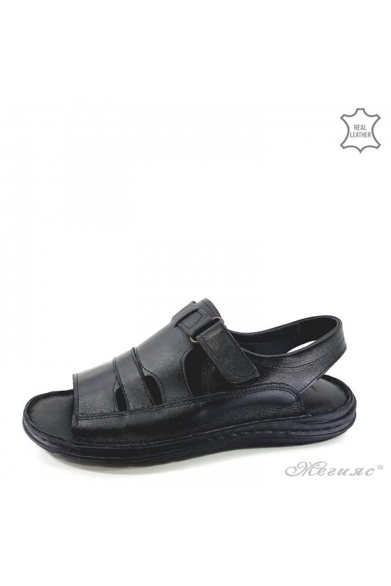 Мъжки сандали от естествена кожа 017