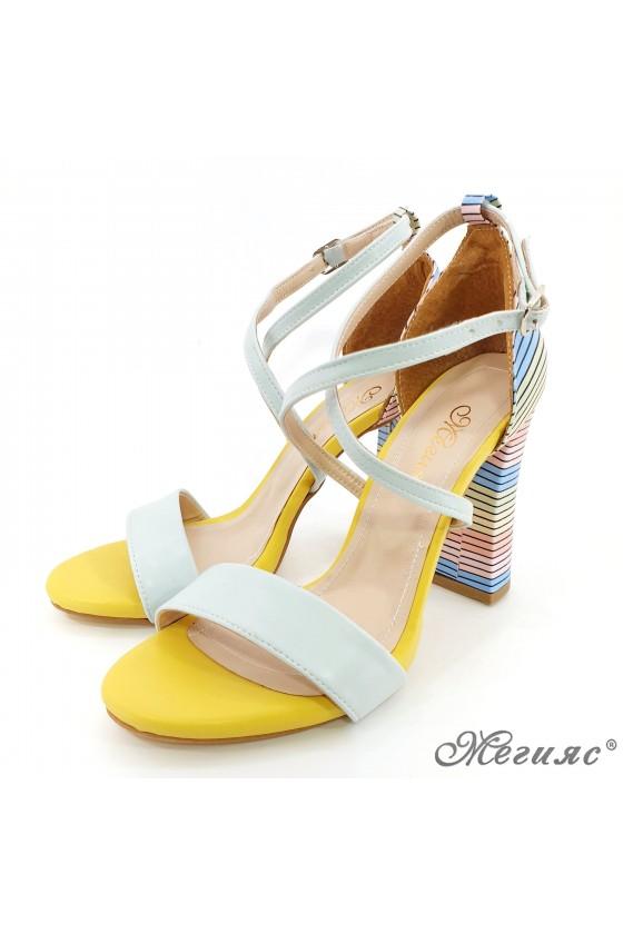 Lady sandals mint 107