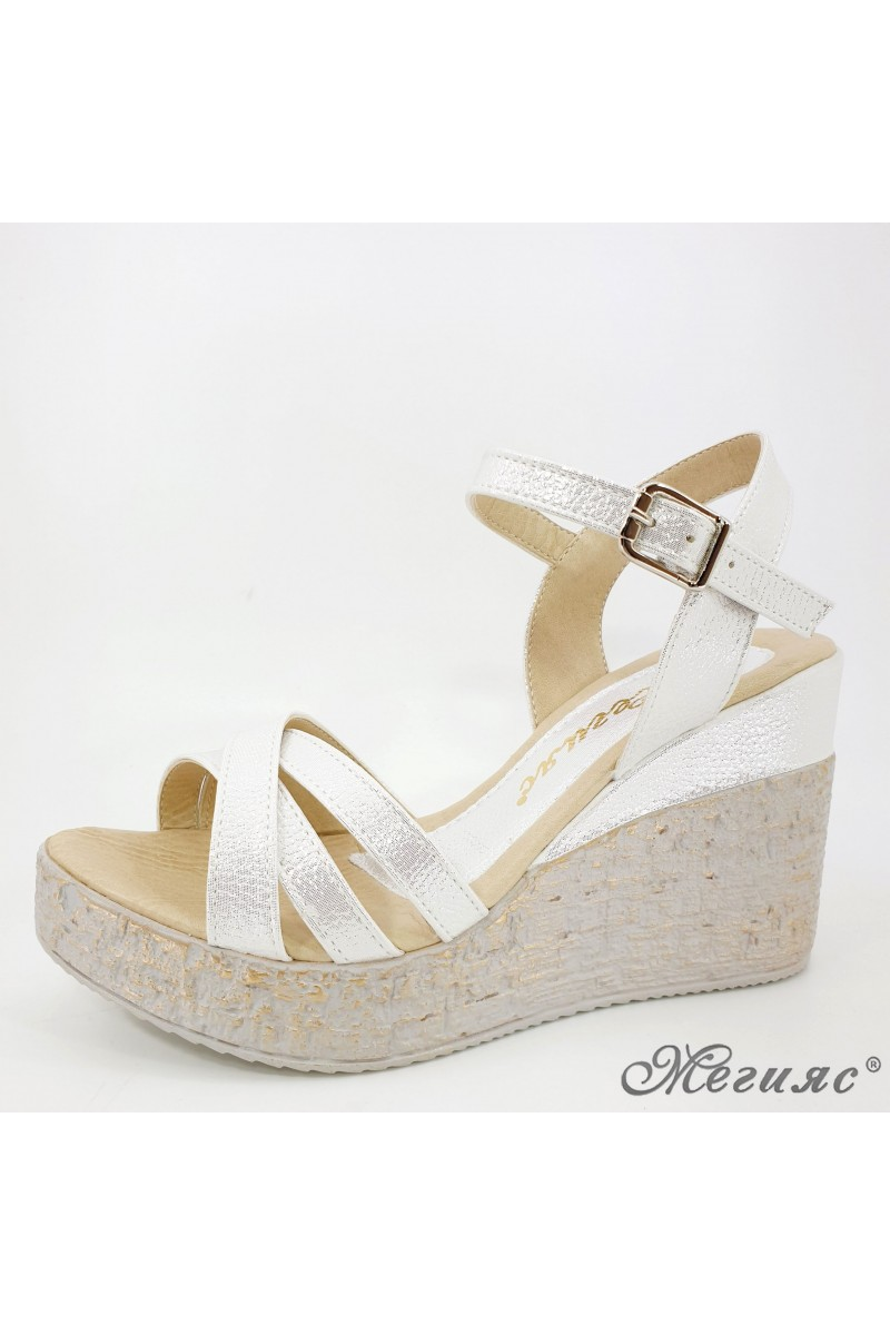 Lady sandals white 2003