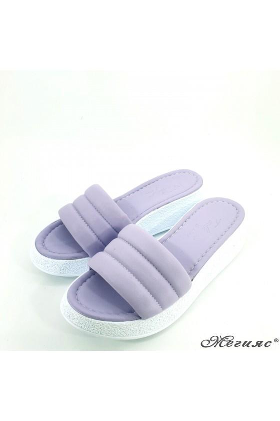 Lady slippers purple 297