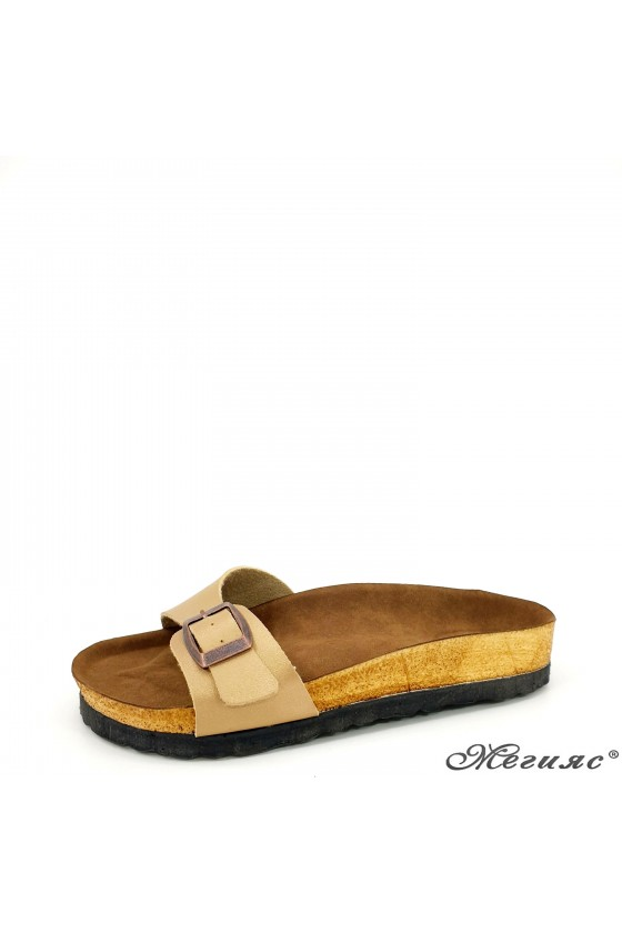 Lady flippers gold pu 5005
