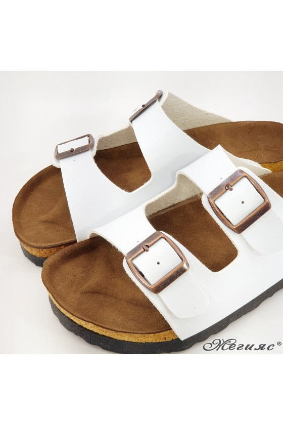 Lady flippers white 5002