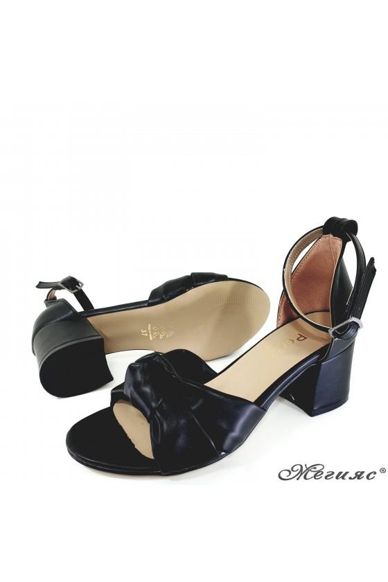 Дамски сандали  черни 3005