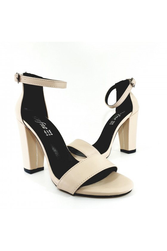 Lady sandals beige 110