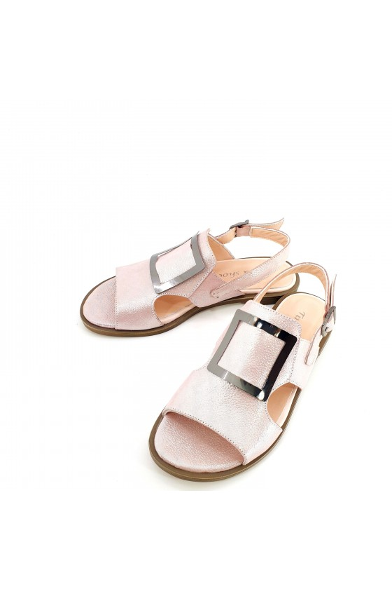 Lady sandals lt pink leather 1583