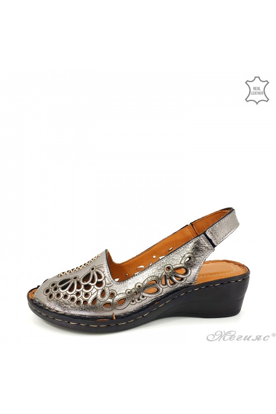 Lady sandals dk grey...