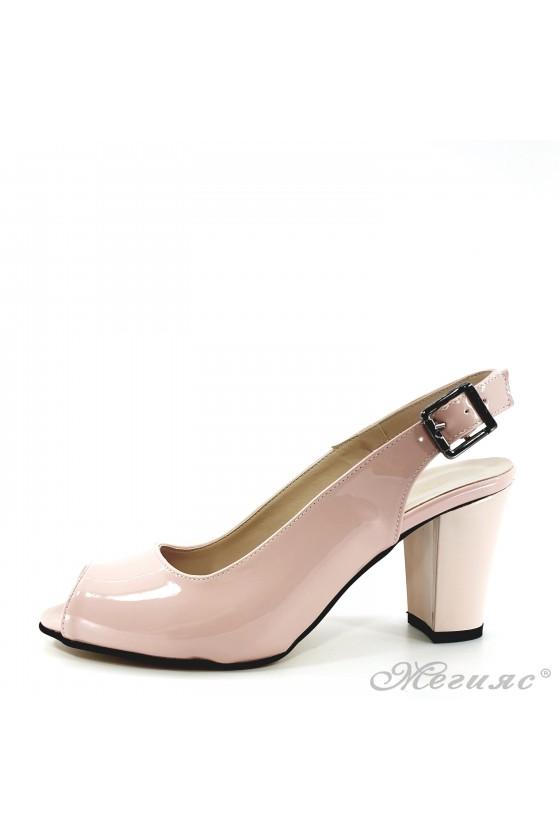 Дамски сандали пудра 88