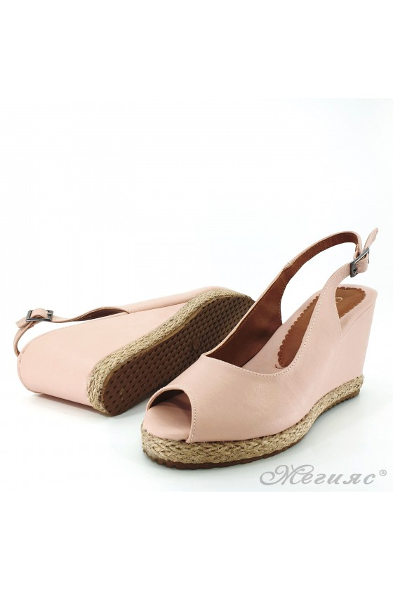 Lady sandals lt pink pu 116