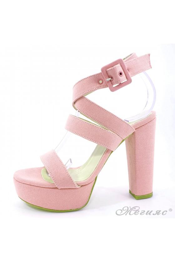 Дамски сандали розови 470