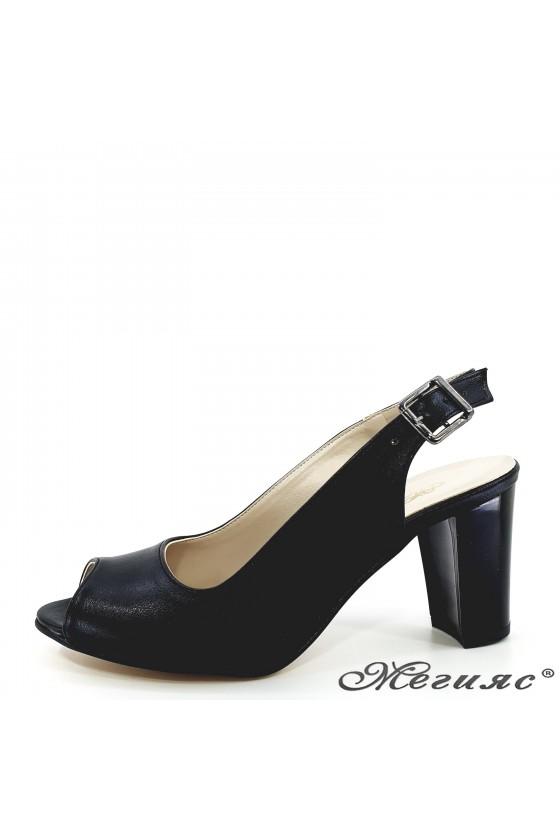 Дамски сандали черни 88