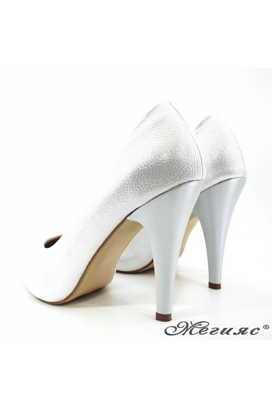 Lady shoes white 218-1