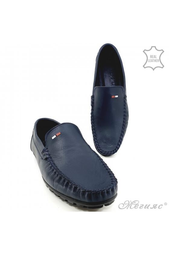 Мъжки обувки сини 02