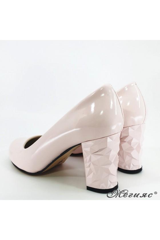 Lady shoes pink shine 991