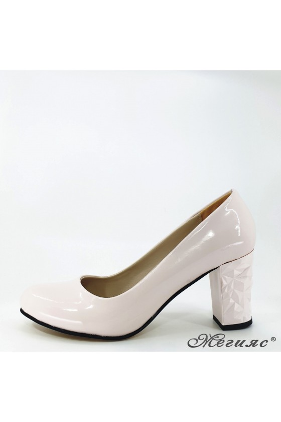 Lady shoes lt pink shine 991