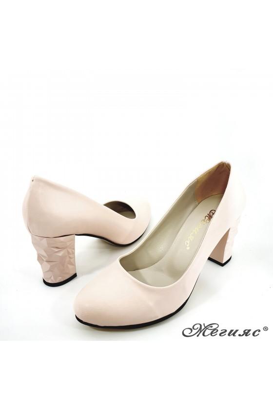 Lady shoes pink pu 991