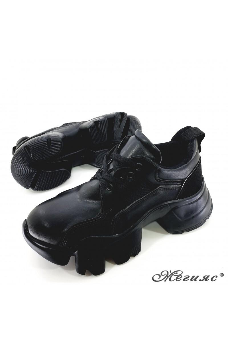 Дамски обувки черни 0428