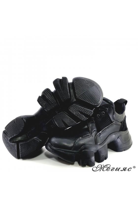 Lady shoes black 0428