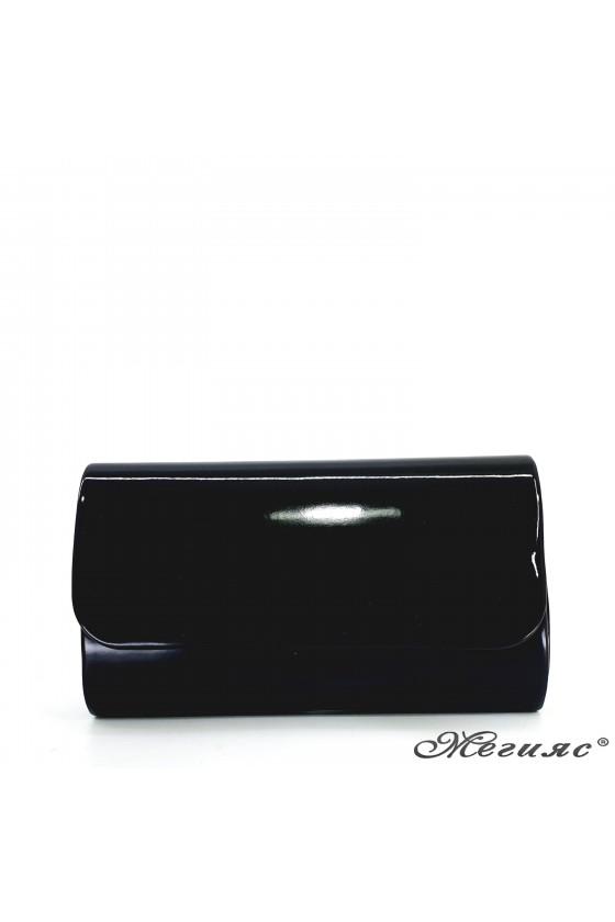 Lady bag black shine 575
