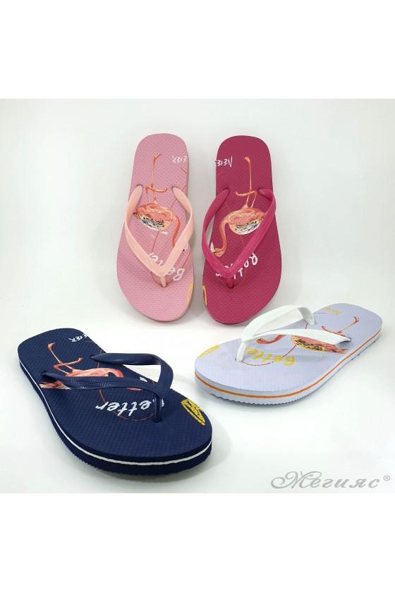 Lady flip flops 2073