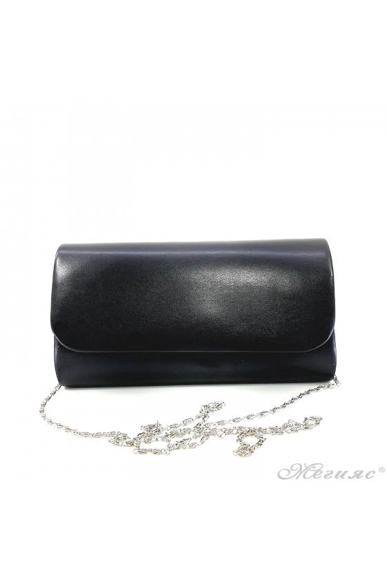 Дамска чанта от еко кожа черна 575