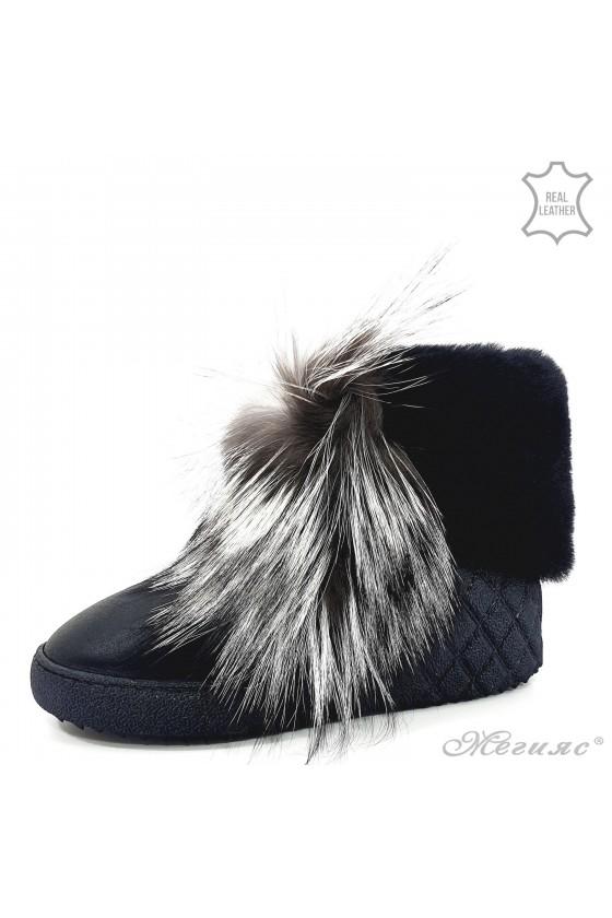 Women boots 17224 black...