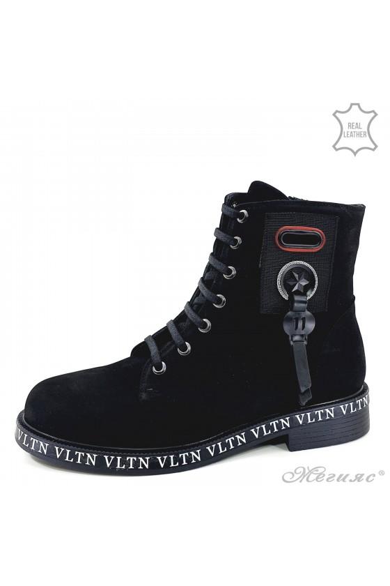 1075-06 Lady boots black...
