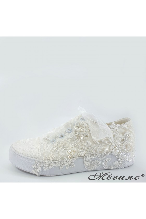 Lady shoes white 174
