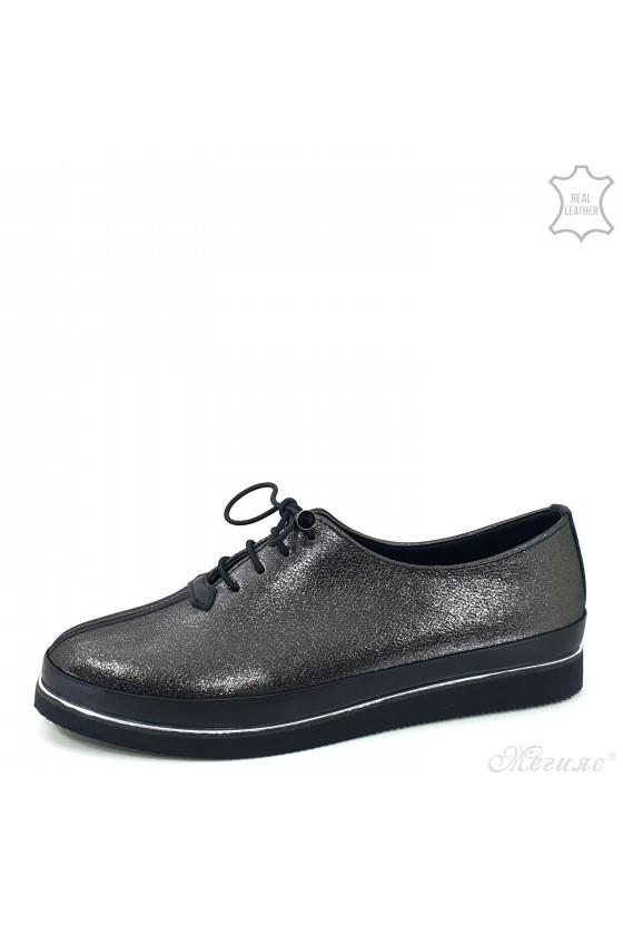 Lady shoes dk silver...