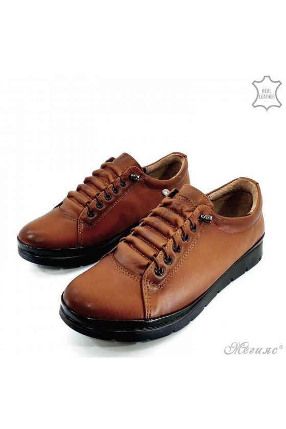 Дамски обувки естествена кожа таба 061