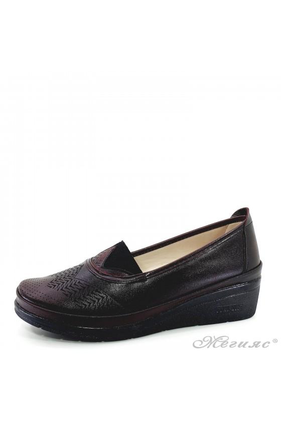 Lady platform shoes...