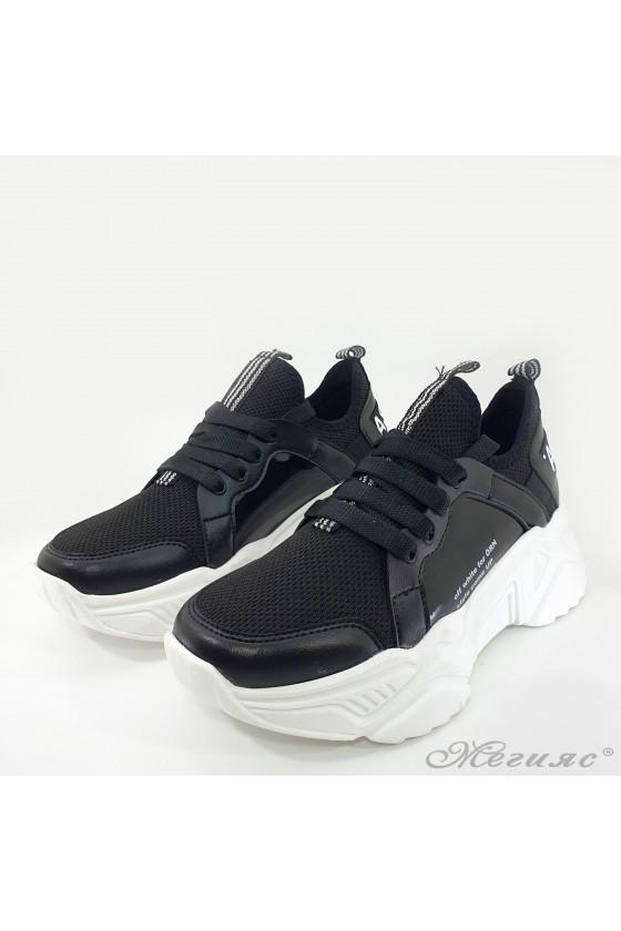 Lady sneakers black 3501