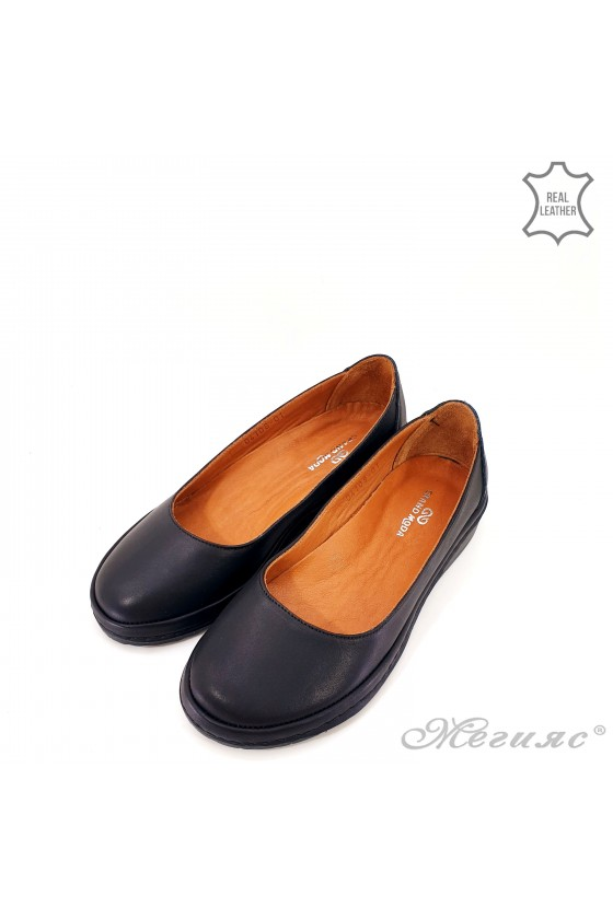 copy of Lady shoes blue leather 414- 51-01