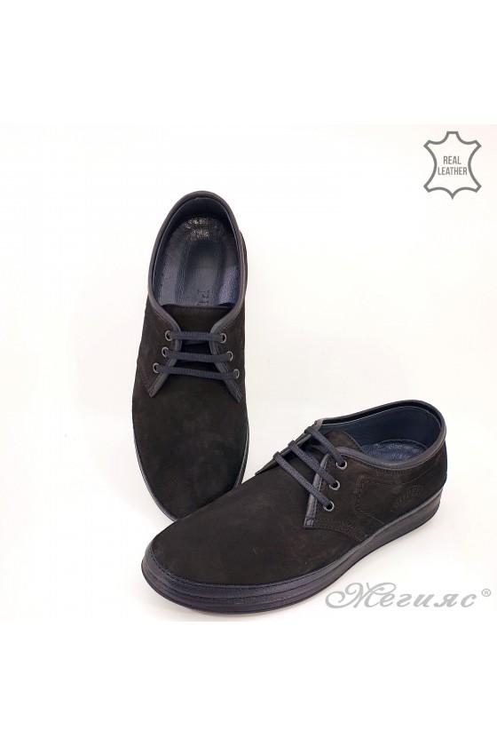 copy of 320-80 Men's shoes black leather