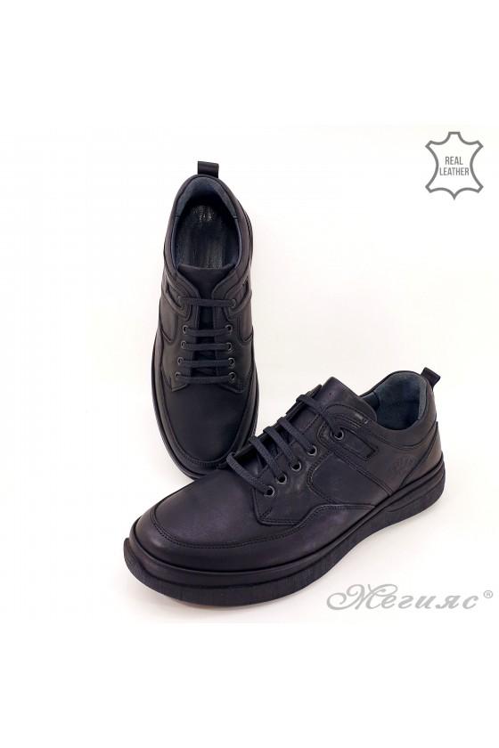 copy of Men shoes 746 black leather
