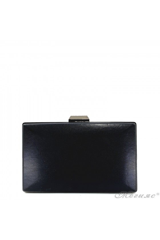 Дамска чанта черна кожа 5560