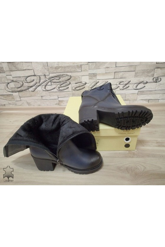 Lady boots  50/4350 dark blue leather