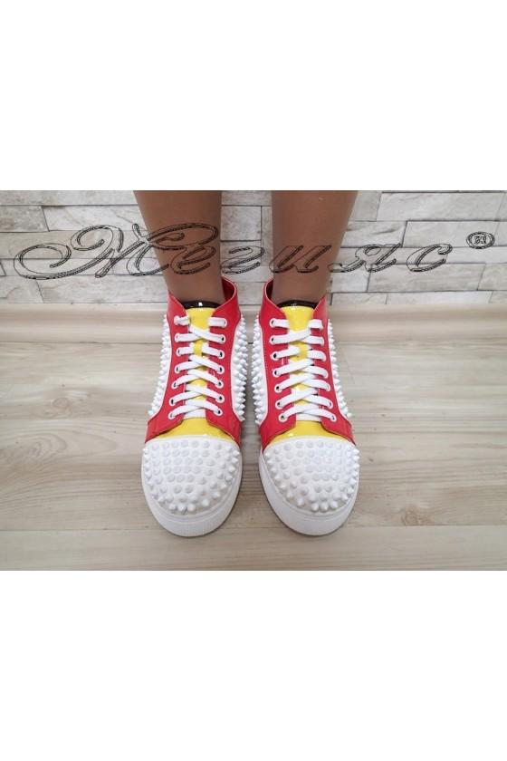 Women sport boots  Christine 20W17-241 white pu