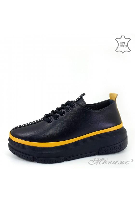 Дамски обувки естествена...