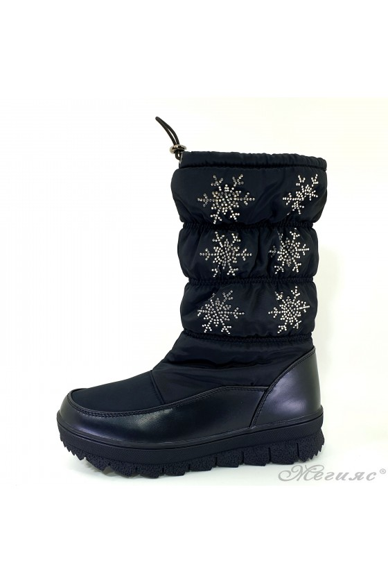 19-1315 Women boots black